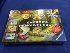 Ravensburger Science X Energies Renouvelables 188734 25 Experiments France Kit