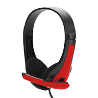 3.5mm Stereo Gaming Headset Over-ear Headphone with Mic For PC  Computer Gamer