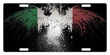 ITALY Custom License Plate ITALIAN ITALIA Emblem EAGLE Version