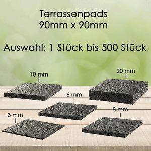 Terrassenpad Pads Unterlage Terrassenpads Gummigranulat