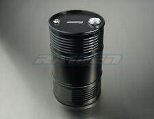 1/10 Scale Aluminum Alloy Oil Fuel Tank (100Ml) for Crawler Scx10 Wraith Black