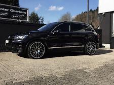 Finus schwarz poliert  22 Zoll Alufelgen Sommerräder Audi Q7 VW Touareg 21 23
