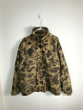 Mens Large Columbia USA MADE Gore Tex Brown Camouflage 3-in-1 Jacket With Liner
