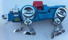 TRANSFORMERS ROBOT VOLTRON LIONBOT GOBOT DIE CAST METAL 15 CM LEONE BLU