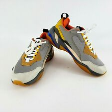 PUMA Thunder Spectra Shoes Men Size 8.5 Drizzle/Drizzle/Steel Grey 36751602 RARE