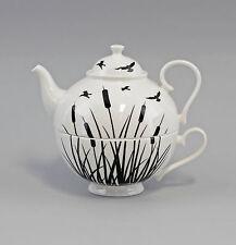 9952325 Porzellan  Tee-Set Tea for one Set Schilf Jameson&Tailor 0,6l H14,5cm