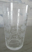 Verre publicitaire gravé Vodka Smirnoff Hauteur 12 cms