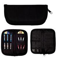 Darts Accessories Carry Case Wallet Pockets Holder Black Storing Bag Durabl X5H6