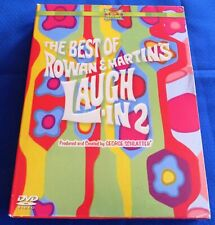 Laugh In 2 DVD The Best of Rowan & Martins 3 Disc Box Set TV Comedy Humor GC FS