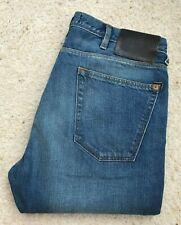 Mens Paul Smith Drain Pipe Blue denim jeans W 32 L 36