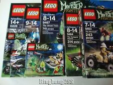 LEGO MONSTER FIGHTERS Sets 10228 9461 9463 9464 9467 9468 30200 30201 - NEW