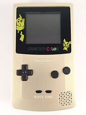NINTENDO GAME BOY COLOR - Gold Pokemon Edition Gameboy Colour FULLY REFURBISHED
