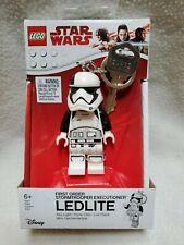 LEGO Star Wars FIRST ORDER STORMTROOPER LED Light Key Chain Mini Figure