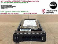 Dell PowerEdge 146GB SAS 15K 3.5'' Hot Swap Hard Drive M8034 / 0M8034