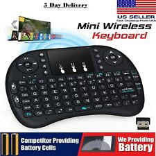 Wireless 2.4GHz Mini Keyboard With Mouse Touch pad Remote Control Android TV Box
