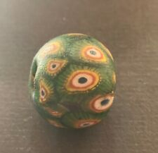 Alte Glasperle, ,Old Glass Bead Indonesien Java China Tibet Nepal Buddha (A297)