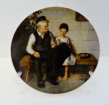 The Lighthouse Keeper's Daughter 3rd Plate Rockwell Heritage Collection No Coa