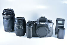 Canon EOS 7D 18.0MP Digital SLR Camera With Canon 75-300mm & 28-90 Macro Lenses