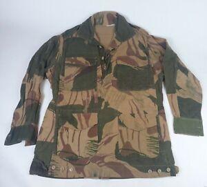 1970s Pakistani Army Brushstroke 'Rhodesian' Camouflage Shirt smock