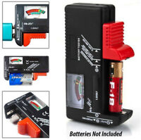 Universal Battery Tester Tool AA AAA C D 9V Button Cell Volt Tester Checker Tool