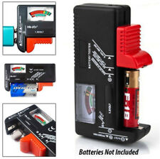 Universal Battery Voltage Tester Tool AA AAA C D 9V Button Cell Volt Tester Tool