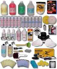 auto/detailing/dewalt buffer/tire dressing/detail/kit 6