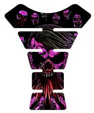 The Walking Dead pink purple  Zombie Motorcycle Tank Pad protector tankpad decal