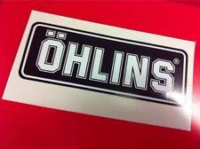 1 Adesivo OHLINS ammortizzatori pistoncino Black& White