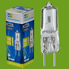 5 X G4 Halogen Energy Saving 14W = 20W Equivalent Light Bulbs 12V Eco Bulbs