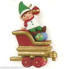 Hallmark 2011 Happy Helper  Santa's Holiday Train Miniature