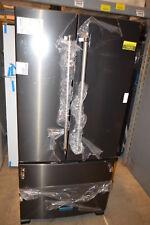 """KitchenAid Krff302Ebs 33"""" Black Stainless French Door Refrigerator Nob #19430"""