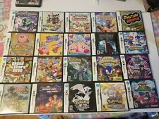 Lot of 20 Nintendo DS EMPTY CASES ONLY (14 include manual) NO GAMES *Ships Fast*