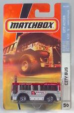 Matchbox MBX Metal Ready for Action 50 - City of Everett, WA Transit Bus M5329 B