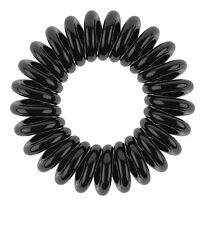 Echt Invisibobble Haarband Ring 3er Pack schwarz klar wei�Ÿ rosa braun rot