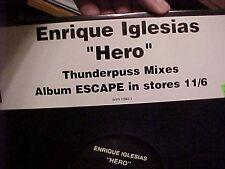 "Enrique Iglesias Hero Thunderpuss Mixes  Dj US 12"""
