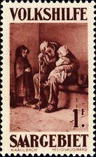 SARRE / SAARGEBIET - 1929 Mi.137 1fr (+ 50c) - Mint*