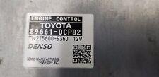 2015-2017 Toyota Tundra Computer Engine Control P/N: 89661-0CP82