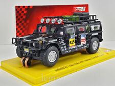 Slot car Scalextric Power Slot Hummer H1 Lisboa Dakar 2007 Team Robby Gordon