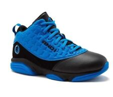 And1 Bankster Youth Boys Athletic Basketball Shoes Blue/Black Size 1-6