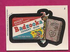 RARE OPC 1992 WACKY PACKAGES BADZOOKA  NRMT CARD (INV#6427)