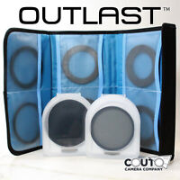 OUTLAST 72mm CPL + VND Step-Up Kit Variable Neutral Density Polarizing ND2-400