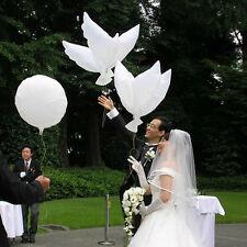 1Flying Pigeon Bird Animal Helium Balloons 41inch Peace Dove Wedding Xmas Tw