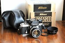 NIKON F2 Photomic SB  - Boxed  w/ Matching Body & finder Serial#   * Complete *