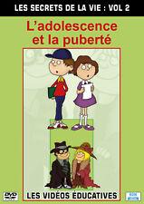 DVD Les secrets de la vie Vol 2 : L'adolescence et la puberté