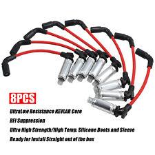 8*Spark Plug Wire For CHEVY Silverado 1500-2500 99-06 LS1 VORTEC 4.8L 5.3L 6.0L