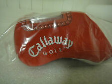 Brand New Callaway  Neoprene Irons Head Cover Set of 10 in Bag  Color* RED*!