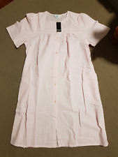 size 12/14 M GIVONI COTTON Nightie Night Dress NEW W TAGs women's ladies