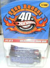 2008 HOT WHEELS COLLECTORS CONVENTION VOLKSWAGEN DRAG BUS Real Riders LE 1/3000