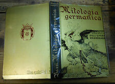 Mitologia Germanica Bassi Hoepli 1933  MI