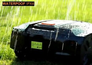 DIY Rechargeable Electric Robotic Lawnmower Waterproof Grass Cutting Robot Mower